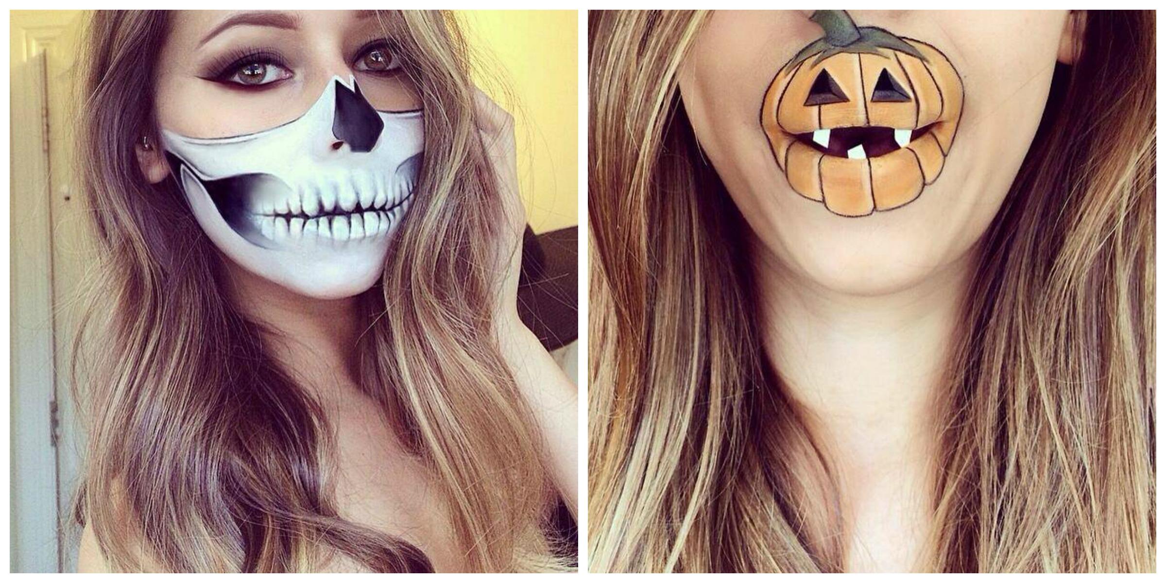 Maquillaje y peinados de halloween for Pinturas de cara para halloween