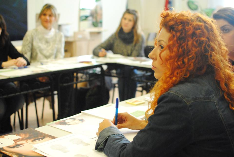 monitora en formación Mindfull teaching